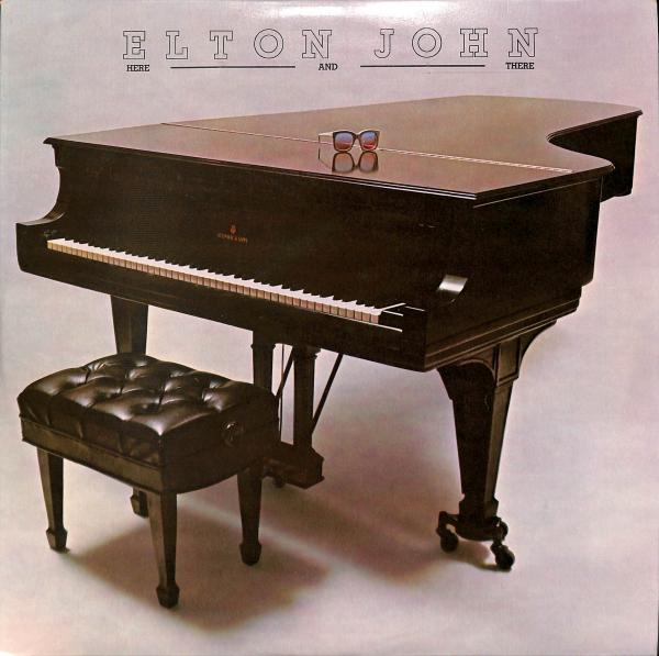 Elton John - Here and There (LP)