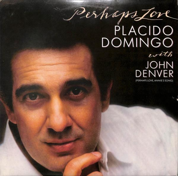 Perhaps Love - Placido Domingo With John Denver (LP)