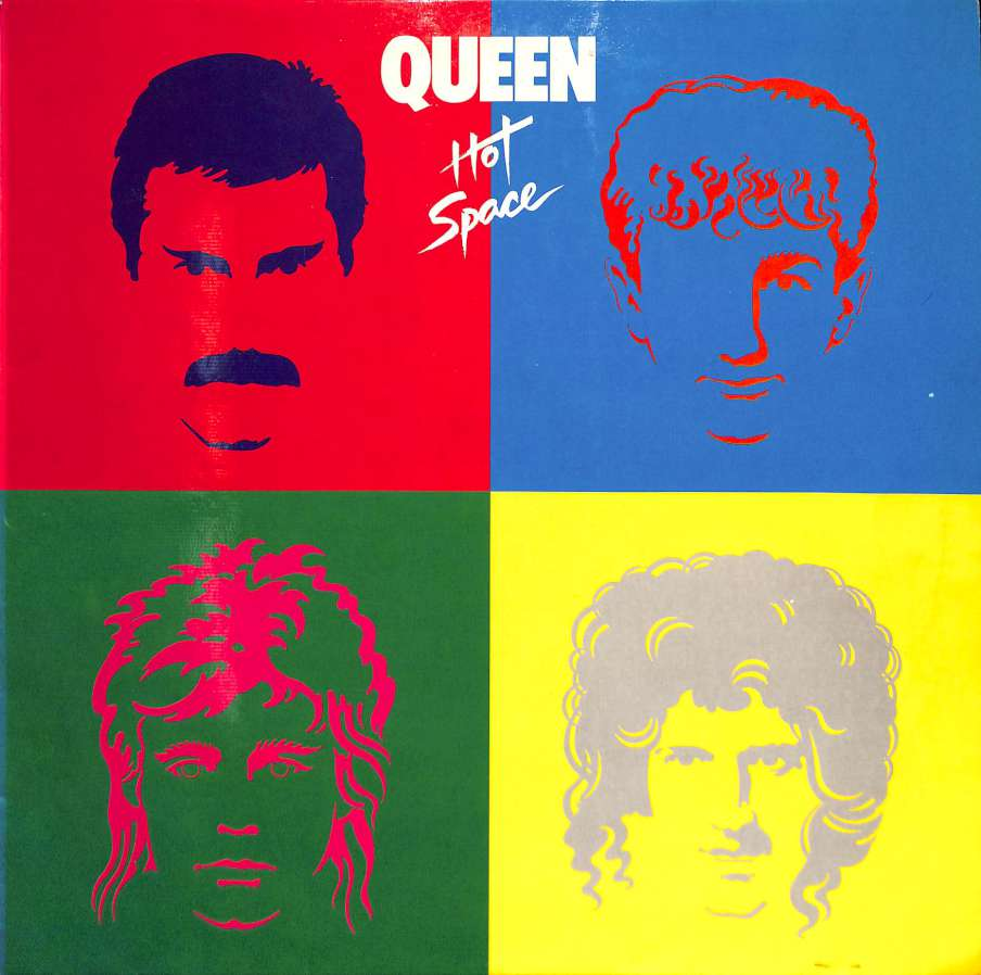 Queen - Hot Space (LP)