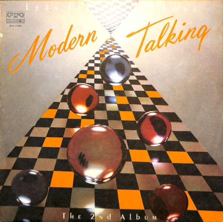Modern Talking - Lets talk about love (LP)
