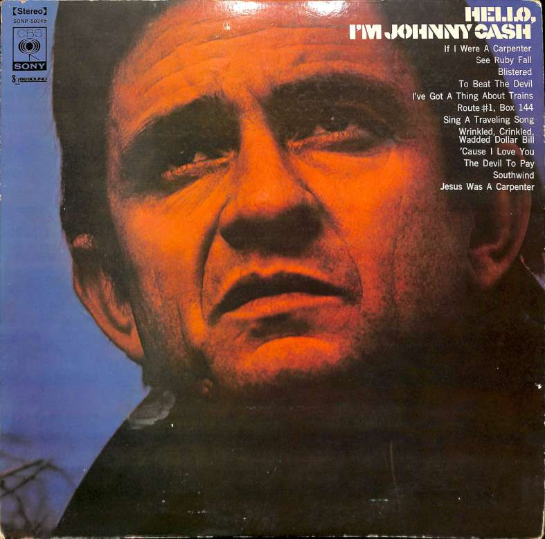 Hello, im Johnny Cash (LP)