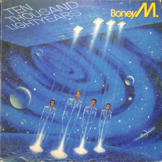 Boney M - Ten thousand light years (LP)