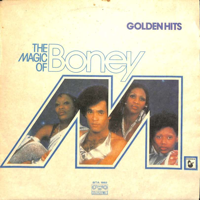 The magic of Boney M – Golden hits (LP)